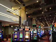 Picture showing recently completed Casino project